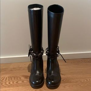 CHANEL Mid-Calf Boots Size 38